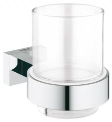 Стакан с держателем Grohe Essentials Cube 40755 001